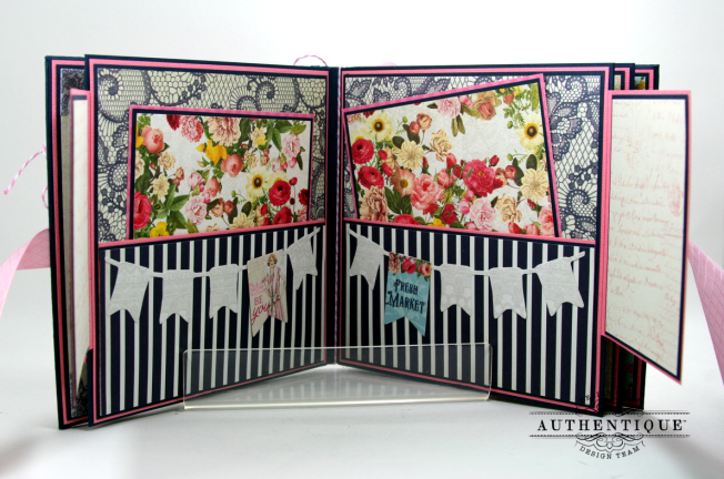 Be Your Own Kind Of Beautiful Mini Album Authentique Polly's Paper Studio 05