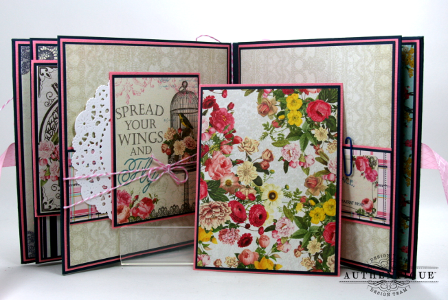 Be Your Own Kind Of Beautiful Mini Album Authentique Polly's Paper Studio 08