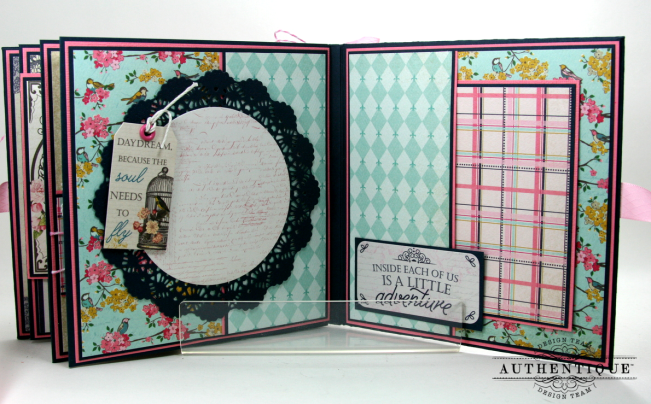 Be Your Own Kind Of Beautiful Mini Album Authentique Polly's Paper Studio 09