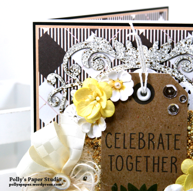 Celebrate Together All Occasion Greeting Card Polly's Paper Studio 02