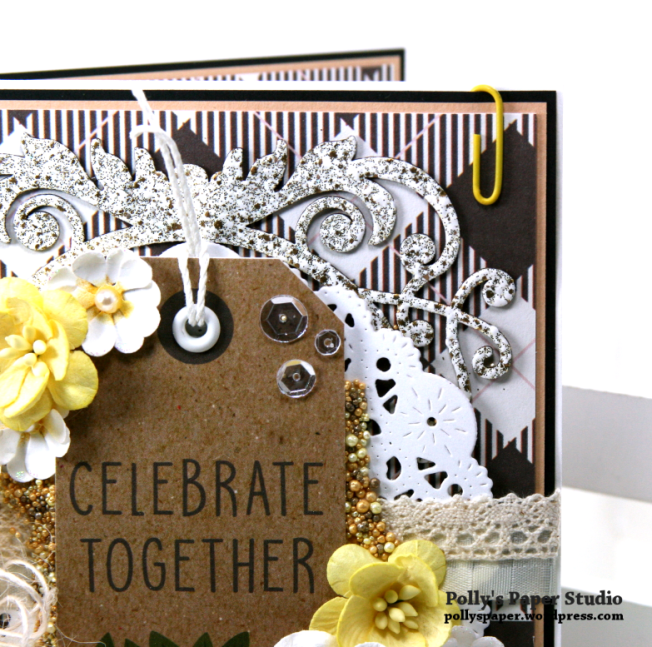 Celebrate Together All Occasion Greeting Card Polly's Paper Studio 03