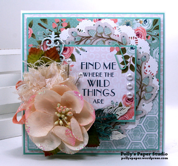 Find Me Where the Wild Things Are Greeting Card Polly's Paper Studio2