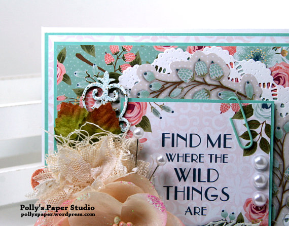 Find Me Where the Wild Things Are Greeting Card Polly's Paper Studio4