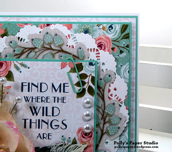 Find Me Where the Wild Things Are Greeting Card Polly's Paper Studio5