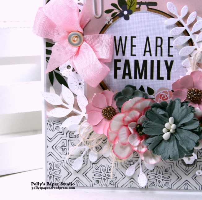 We Are Family Greeting Card Polly's Paper Studio 02