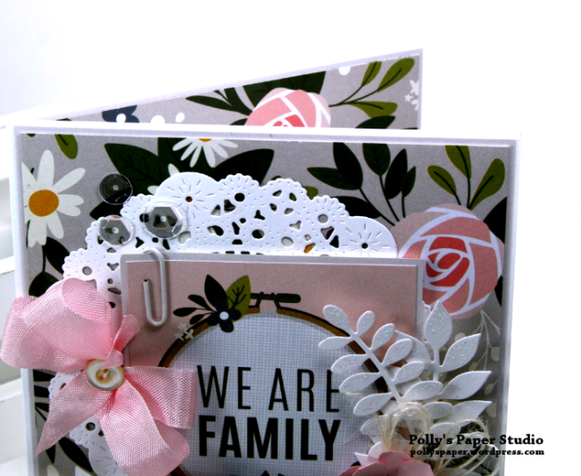 We Are Family Greeting Card Polly's Paper Studio 04