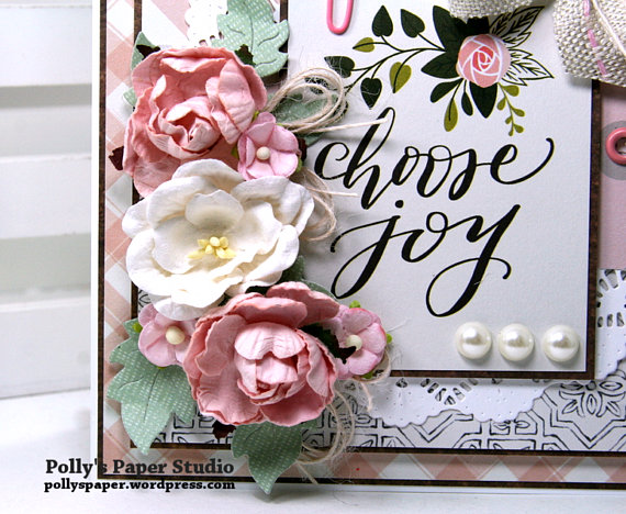 Choose Joy All Occasion Greeting Card Polly's Paper Studio 03