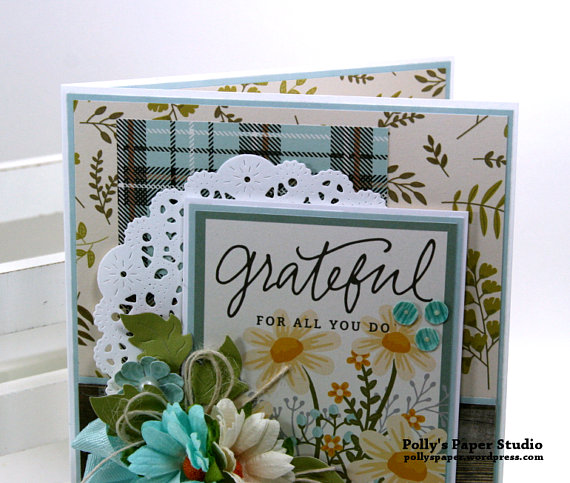 Grateful Greeting Card Polly's Paper Studio 03