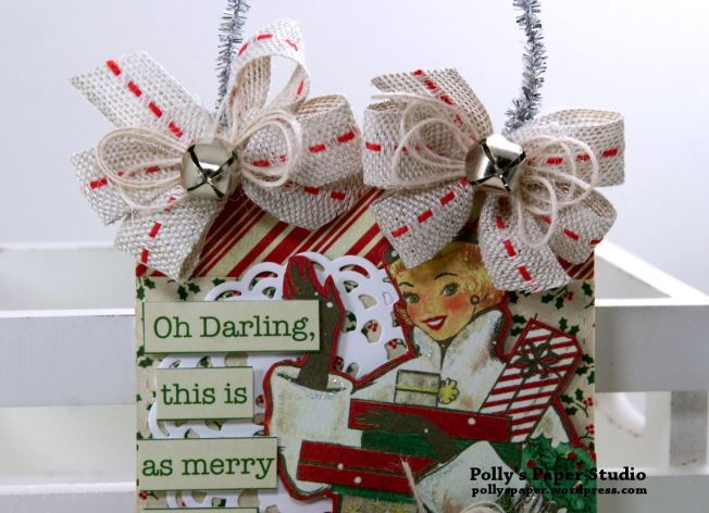 Oh Darling Christmas Tag Polly's Paper Studio 02
