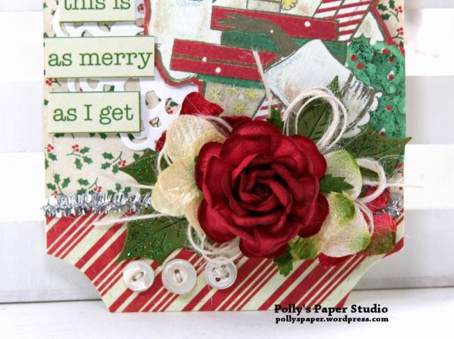 Oh Darling Christmas Tag Polly's Paper Studio 03