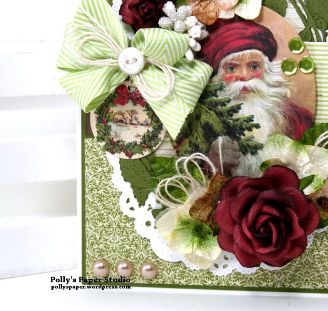Traditions Christmas Greeting Card Polly's Paper Studio 02