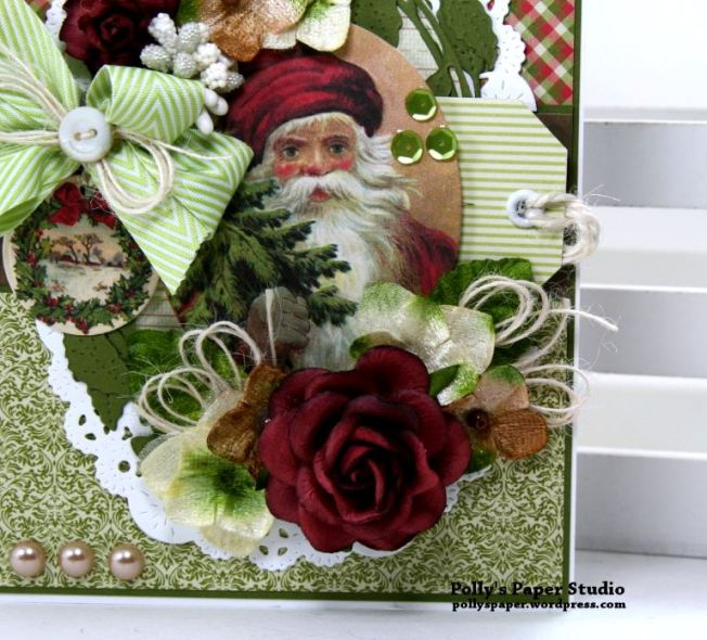 Traditions Christmas Greeting Card Polly's Paper Studio 03