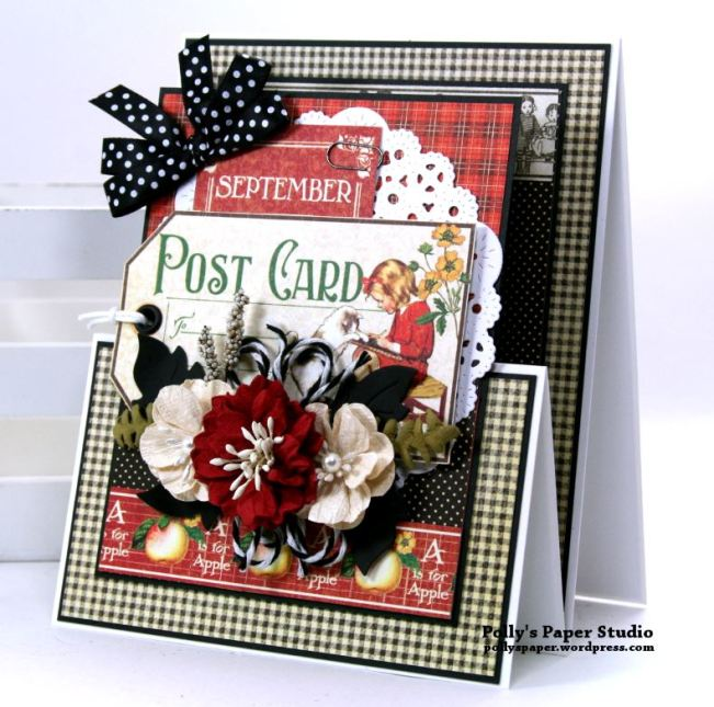 Back to School Gift Card Holder Polly's Paper Studio 01