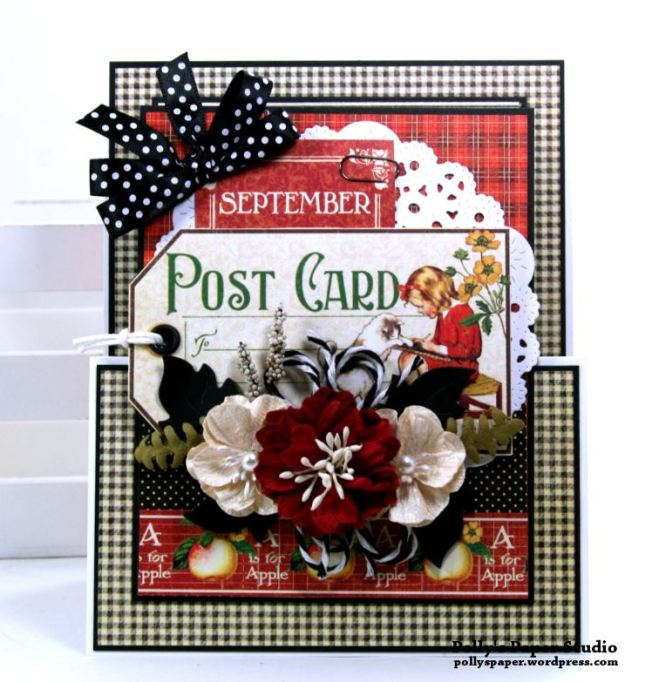 Back to School Gift Card Holder Polly's Paper Studio 02