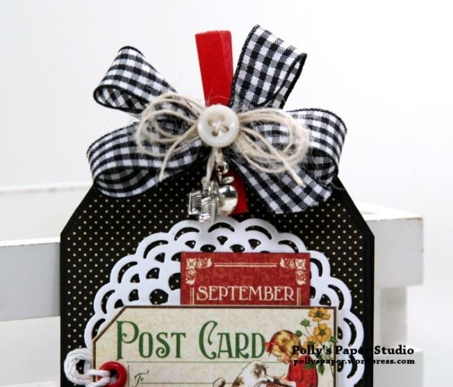 Back to School Teacher Gift Tag Booklet Polly's paper Studio 02