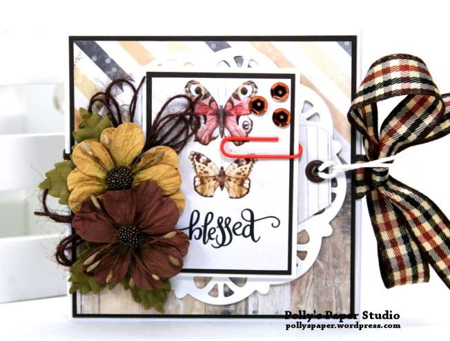 Blessed Mini Flip Book Polly's Paper Studio 01