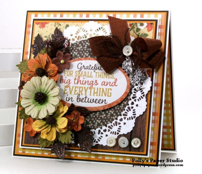 Grateful Fall Card Polly's Paper Studio 01