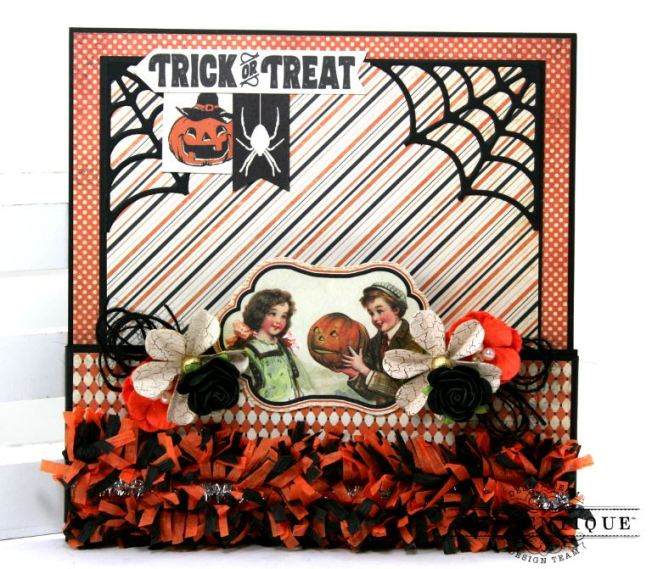 Halloween Pocket With Tags Polly's Paper Studio 02