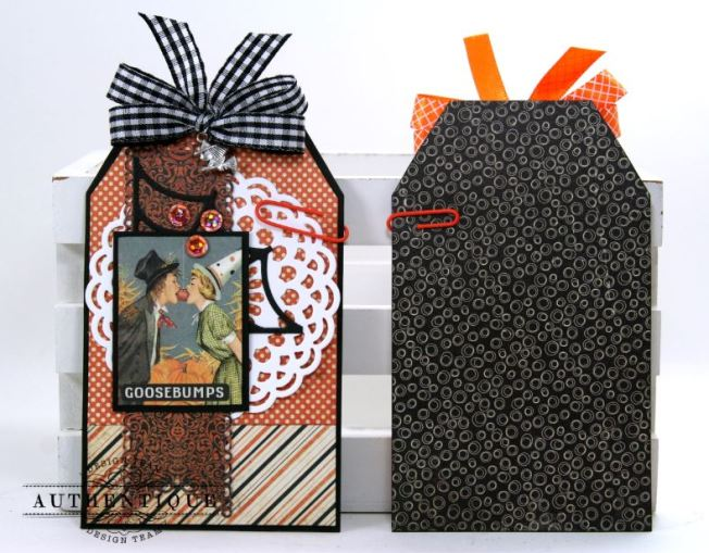 Halloween Pocket With Tags Polly's Paper Studio 05