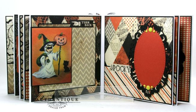 Hocus Pocus Halloween Mini Album Polly's Paper Studio 011