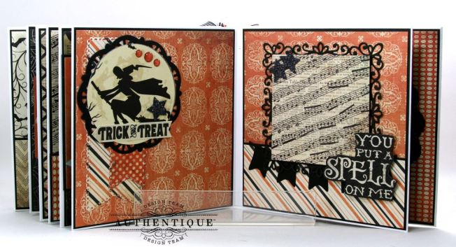 Hocus Pocus Halloween Mini Album Polly's Paper Studio 012