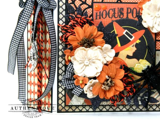 Hocus Pocus Halloween Mini Album Polly's Paper Studio 02