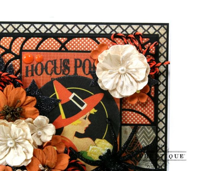 Hocus Pocus Halloween Mini Album Polly's Paper Studio 03
