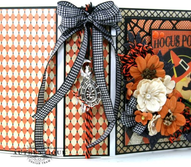 Hocus Pocus Halloween Mini Album Polly's Paper Studio 04