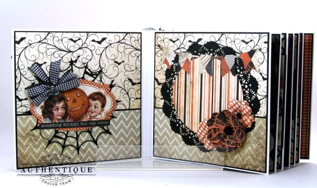 Hocus Pocus Halloween Mini Album Polly's Paper Studio 05