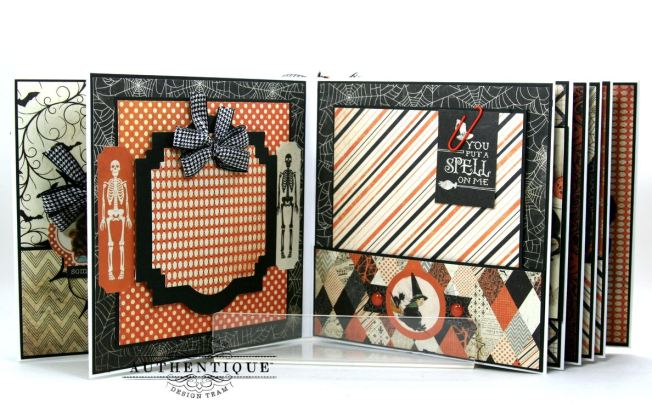 Hocus Pocus Halloween Mini Album Polly's Paper Studio 06