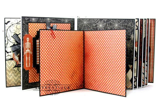 Hocus Pocus Halloween Mini Album Polly's Paper Studio 07