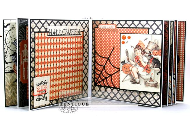 Hocus Pocus Halloween Mini Album Polly's Paper Studio 08