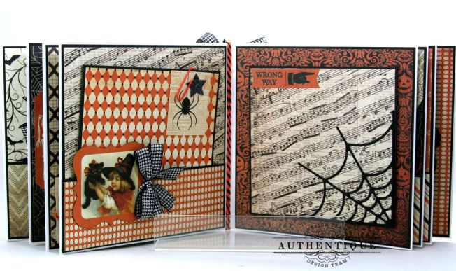 Hocus Pocus Halloween Mini Album Polly's Paper Studio 09