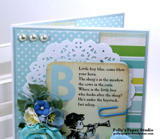 Little Baby Card Polly's Paper Studio 03