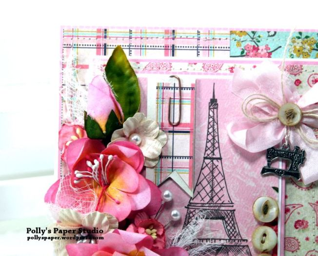 Shabby Paris Card Polly's Paper Studio 03