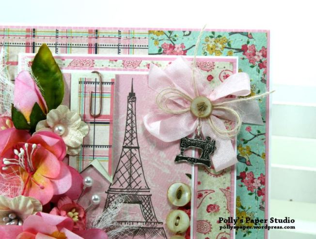 Shabby Paris Card Polly's Paper Studio 04