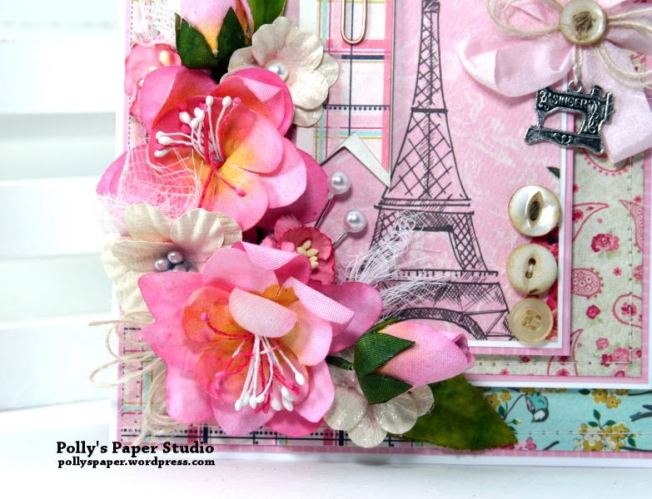 Shabby Paris Card Polly's Paper Studio 05