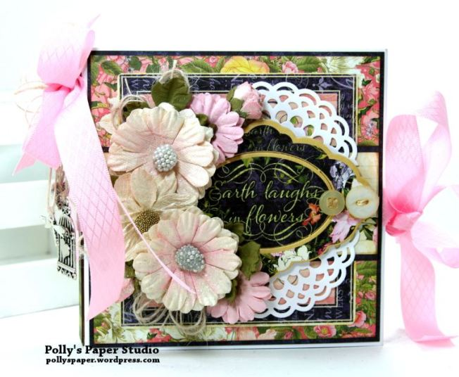 Floral Shoppe Flip Book Polly's Paper Studio 01