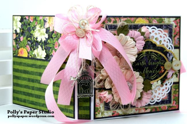 Floral Shoppe Flip Book Polly's Paper Studio 02