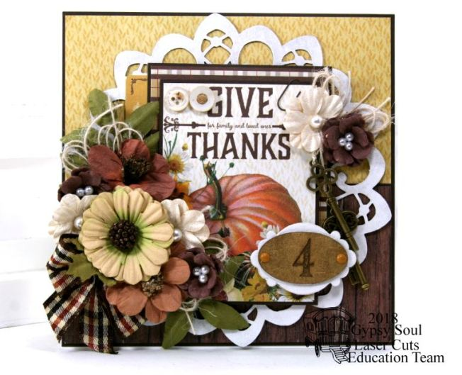 Give Thanks Greeting Card Polly's Paper Studio 02