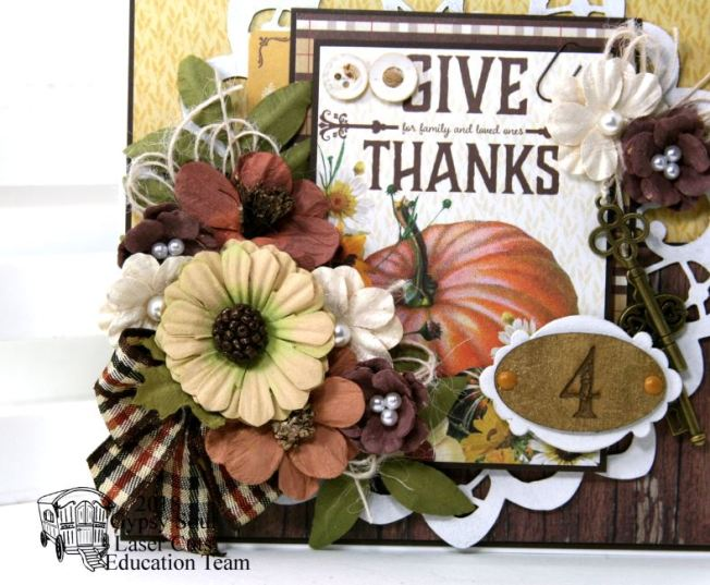Give Thanks Greeting Card Polly's Paper Studio 03