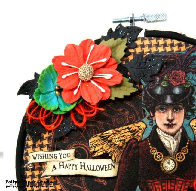 Happy Halloween Hoop Frame 02