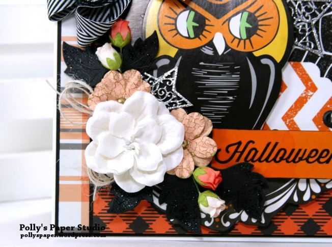 Retro Halloween Greeting Card Polly's Paper Studio 03