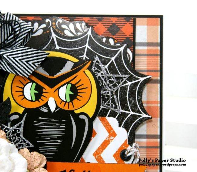 Retro Halloween Greeting Card Polly's Paper Studio 05