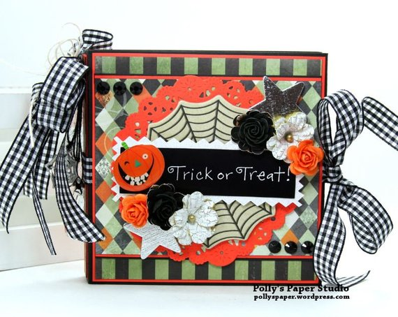 Trick or Treat Flip Book Polly's Paper Studio 01