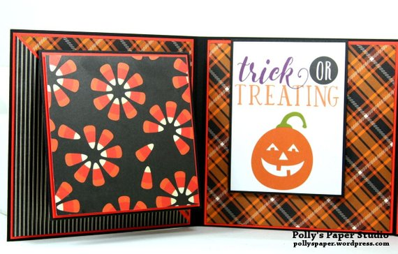 Trick or Treat Flip Book Polly's Paper Studio 04