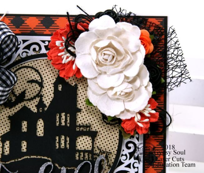Frightful Halloween House Greeting Card Polly's Paper Studio 05