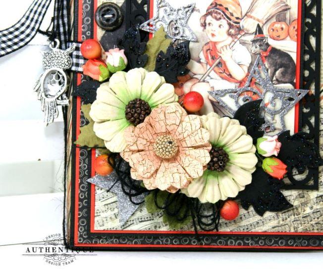 Halloween Mini Album Mystery and Night Polly's Paper Studio 02