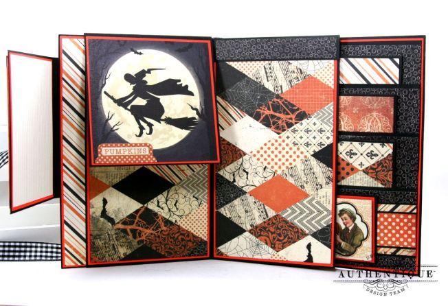 Halloween Mini Album Mystery and Night Polly's Paper Studio 05