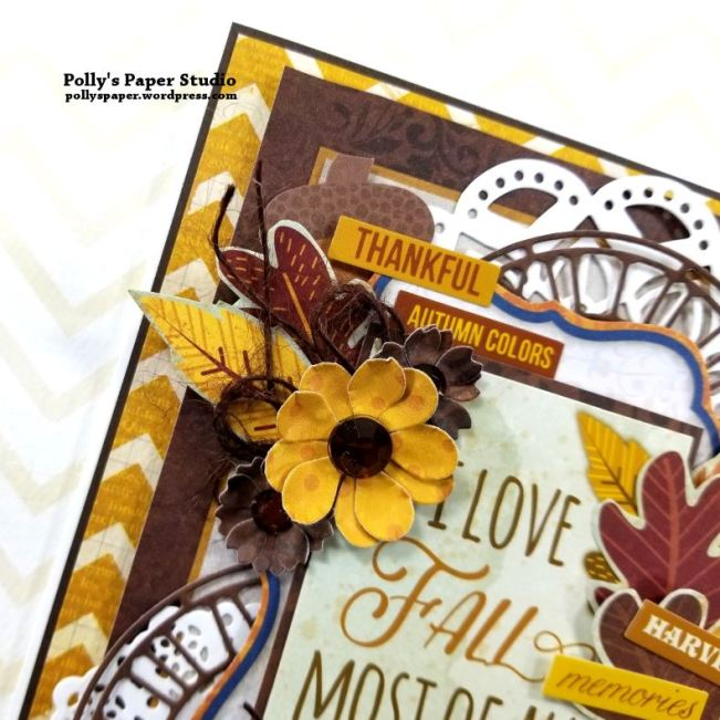 I Love Fall Greeting Card Polly's Paper Studio 03
